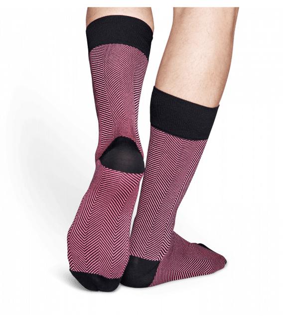 جوراب HappySocks طرح Dressed مدل Herringbone