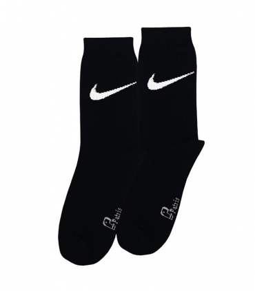 جوراب ساقدار نانو پاتریس طرح نایک مشکی