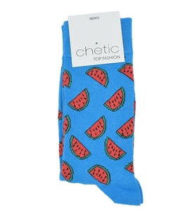 جوراب ساقدار Chetic چتیک طرح هندوانه