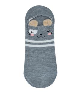 جوراب مچی گوشدار طرح موش ملوس