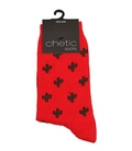 جوراب ساق دار Chetic چتیک طرح کاکتوس قرمز
