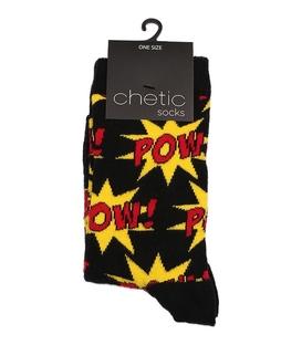 جوراب Chetic چتیک ساقدار طرح انفجار مشکی