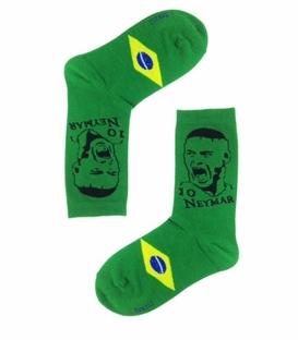 جوراب ساقدار طرح تیم ملی برزیل