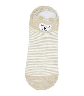 جوراب قوزکی گوشدار طرح لاما