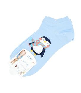 جوراب قوزکی طرح پنگوئن لپ گلی