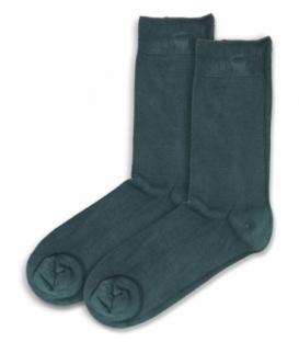 جوراب ساقدار بامبو Ekmen اکمن ساده سبز یشمی