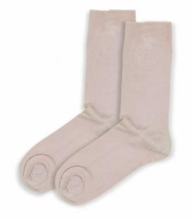 جوراب ساقدار بامبو Ekmen اکمن ساده صورتی روشن