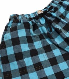 شلوارک مردانه جیبدار نخی چهارخونه نوین طرح 121
