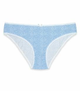 شورت زنانه اسلیپ نخی Koza کوزا کد 11085-1 طرح پلنگی سفید آبی