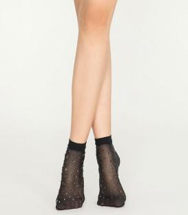 جوراب Penti پنتی نیم ساق مدل Ant ضخامت 30 مشکی Black