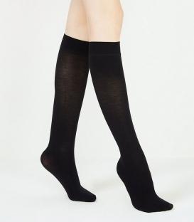 جوراب Penti پنتی زیر زانو مدل Extra Koton Natural مشکی Black