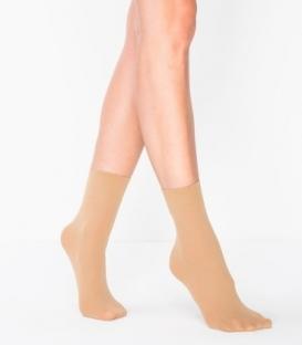 جوراب Penti پنتی نیم ساق مدل Mikro مات ضخامت 40 کرم Nude