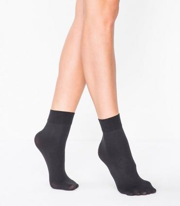 جوراب Penti پنتی نیم ساق مدل Mikro مات ضخامت 40 مشکی Black