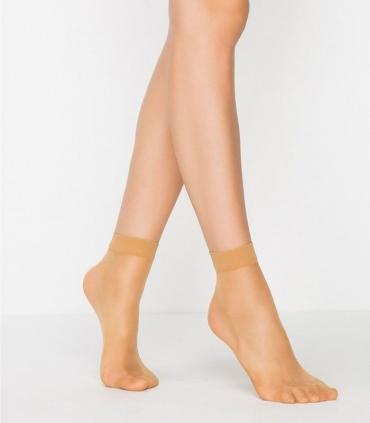 جوراب Penti پنتی نیم ساق مدل Super مات ضخامت 15 برنز Bronze