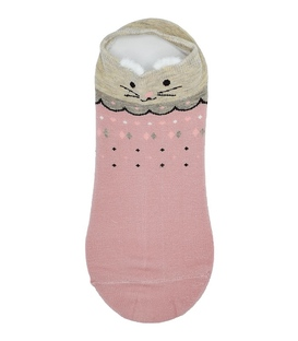جوراب قوزکی گوشدار طرح موش