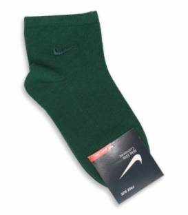 جوراب بچگانه نیم ساق طرح Nike سبز یشمی