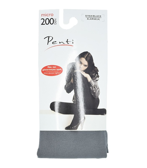 جوراب شلواری Penti خاکستری 200