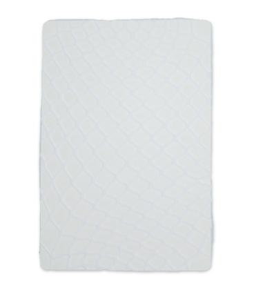 جوراب شلواری طرح فیش نت (زنبوری) سفید