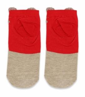جوراب مچی گوشدار طرح گوزن کریسمسی