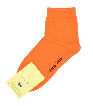 جوراب نیمساق فانی ساکس زنانه نارنجی