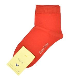 جوراب نیمساق فانی ساکس زنانه قرمز