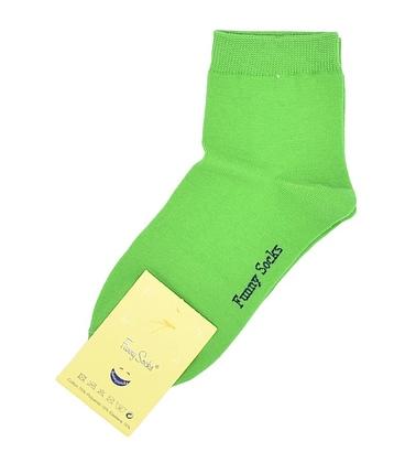 جوراب نیمساق فانی ساکس زنانه سبز