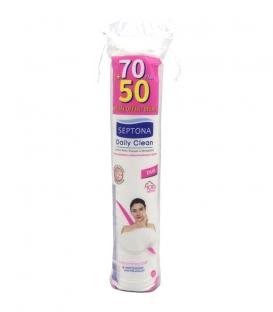 پد پاک کننده آرایش پنبهای دو طرفه Septona سپتونا مناسب پوست های حساس - بسته 120 عددی