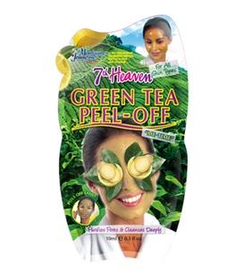 ماسک صورت Peel-Off چای سبز مونته ژنه مدل 7th heaven حجم 10 میلی لیتر