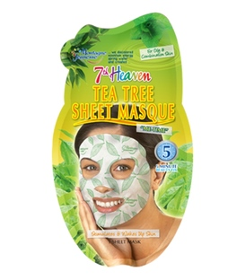 ماسک صورت نقابی درخت چای مدل 7th heaven مونته ژنه