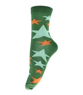 جوراب ساقدار فانی ساکس طرح ستاره سبز کد 710