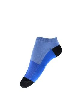 جوراب فانی ساکس مچی طرح چهار رنگ آبی مشکی کد 1036