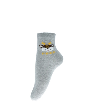 جوراب نیم ساق طرح آهو