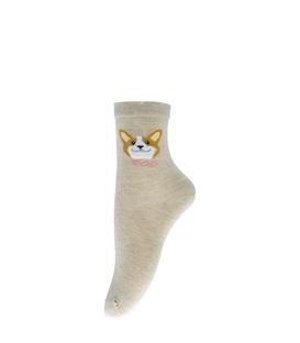 جوراب نیم ساق طرح سگ