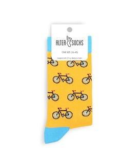 جوراب Alter Socks طرح دوچرخه