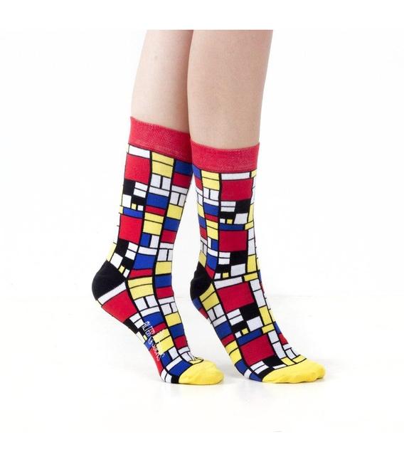 جوراب Alter Socks طرح پیت موندریان