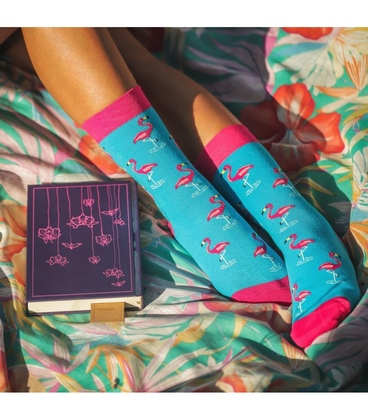 جوراب Alter Socks طرح فلامینگو