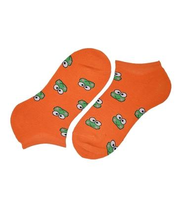 جوراب مچی پاآرا طرح قورباغه نارنجی