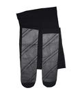 جوراب شلواری شیشهای خط دار