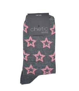 جوراب Chetic چتیک طرح ستاره