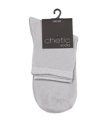 جوراب Chetic طرح لمهای نقرهای