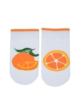 جوراب بچگانه پاآرا طرح پرتقال
