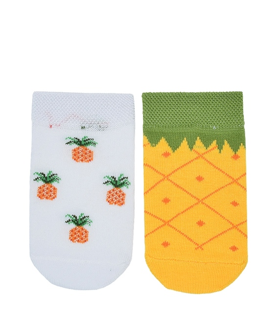 جوراب بچگانه پاآرا طرح آناناس