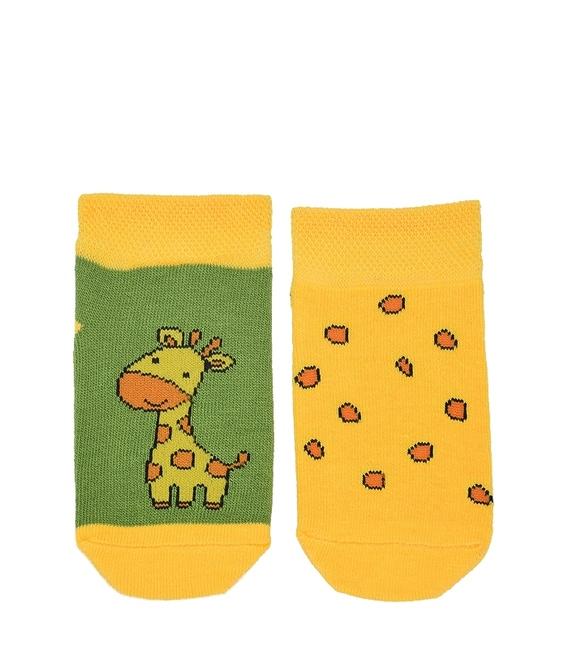 جوراب بچگانه پاآرا طرح زرافه