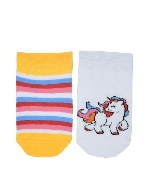جوراب بچگانه پاآرا طرح تکشاخ