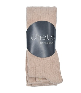 جوراب شلواری بافت Chetic چتیک کرم