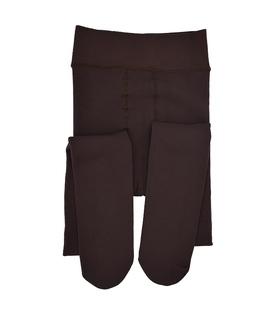جوراب شلواری تو خزدار دو رو قهوهای 9800