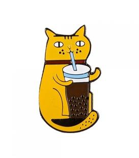 پین Hiuman طرح گربه با لاته