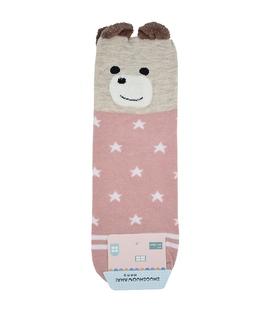 جوراب نیم ساق گوشدار طرح خرس ستاره دار