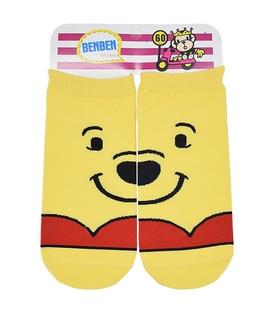 جوراب مچی مکمل طرح Pooh زرد