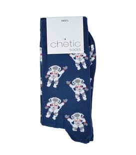 جوراب Chetic چتیک طرح فضانورد سرمهای